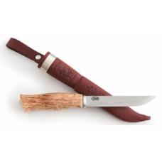Нож AHTI Vaara 125 SS, 12C27  рукоятка береза