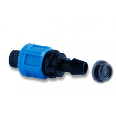 Стартер для ленты Santehplast drip Tape с уп.резинкой Dn17(MC 17x8)