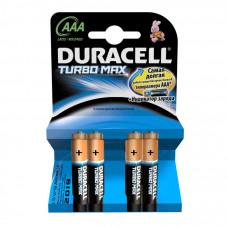 Батарейка Duracell AAA TURBO MAX