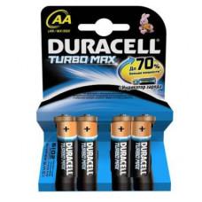 Батарейка Duracell AA TURBO MAX