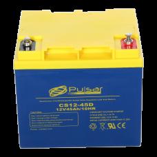 Герметичний свинцево-кислотний акумулятор Pulsar CS12-45D